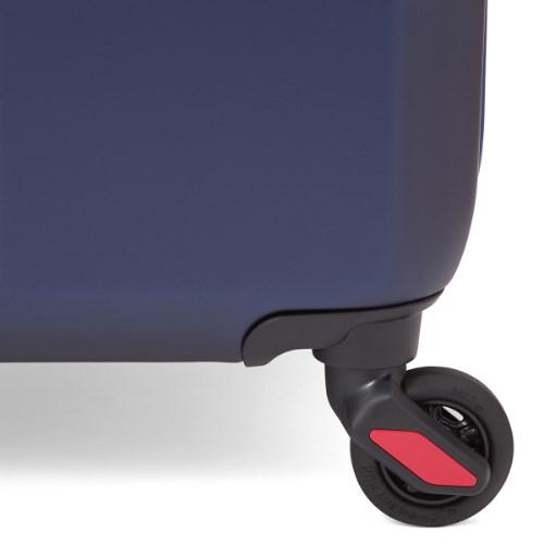 [10泊以上]イノベーター 90L マットネイビー×レッド 4輪 innovator