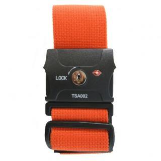 TSAスーツケースベルト(鍵式) オレンジ