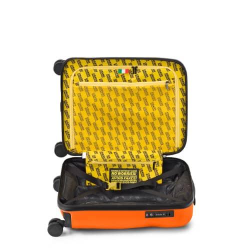 [1-3泊] クラッシュバゲージ アイコンコレクション 35L オレンジ 4輪 CRASH BAGGAGE