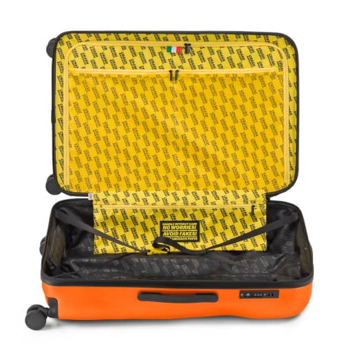 [10泊以上] クラッシュバゲージ アイコンコレクション 99L オレンジ 4輪 CRASH BAGGAGE