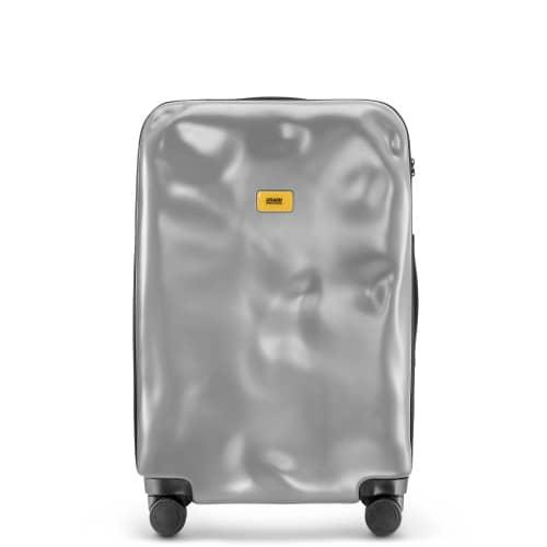 [3-5泊] クラッシュバゲージ アイコンコレクション 65L シルバー 4輪 CRASH BAGGAGE