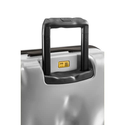 [1-3泊] クラッシュバゲージ アイコンコレクション 35L シルバー 4輪 CRASH BAGGAGE