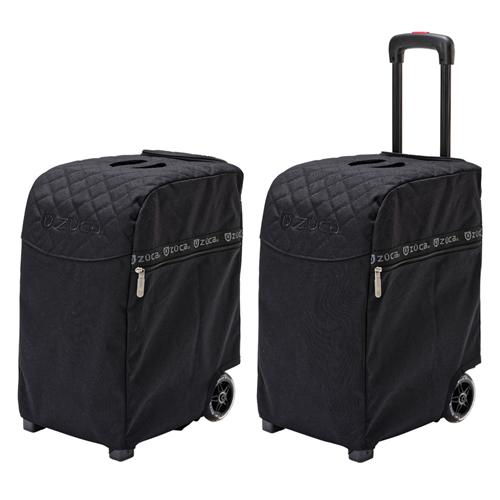 [1-3泊] ZUCA PRO KURO-LUX Travel 32L  KURO-LUX  2輪 「スタンダードパッキングポーチセット+トラベルカバー」
