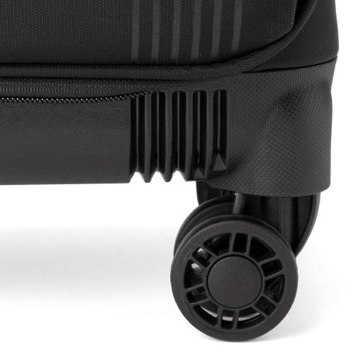 [1-3泊] アントラー タイタス ソフトキャリーケース 30L ブラック 4輪 Antler TITUS