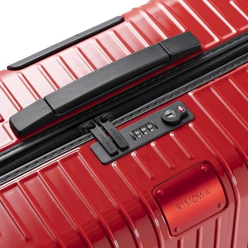 [5-10泊] リモワ エッセンシャルライト 81L レッド 4輪 RIMOWA Essential Lite