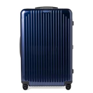 [5-10泊] リモワ エッセンシャルライト 81L ブルー 4輪 RIMOWA Essential Lite