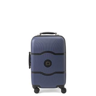 [1-3泊] デルセー シャトレーハードプラス 39L ブルー 4輪 Delsey CHATELET HARD +