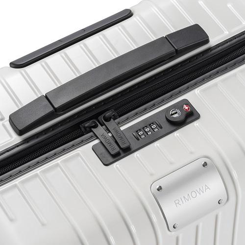 [3-5泊] リモワ エッセンシャルライト 59L ホワイト 4輪 RIMOWA Essential Lite