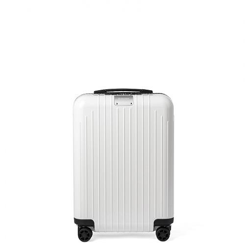 [1-3泊] リモワ エッセンシャルライト 37L ホワイト 4輪 RIMOWA Essential Lite