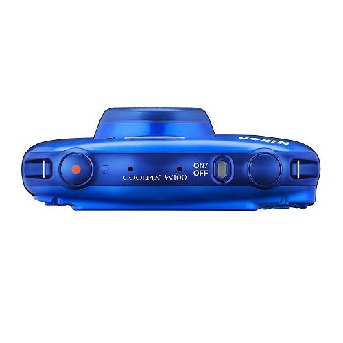 Nikon 防水カメラ COOLPIX W100 ブルー