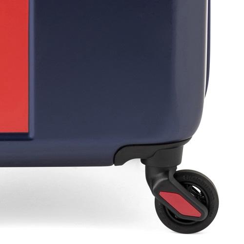[5-10泊]イノベーター 70L マットネイビー×レッド 4輪 innovator