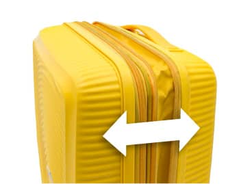エキスパンダブル機能付スーツケース