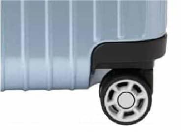 4輪タイプのスーツケース